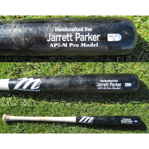 San Francisco Giants - Game Used Broken Bat - Spring Training - Jarrett Parker against Tyler Mahue