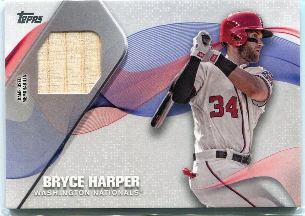 2017 Topps Major League Materials Bryce Harper