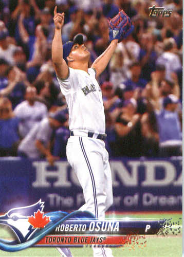 Photo of 2018 Topps #74 Roberto Osuna