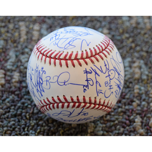 Photo of 2014 Detroit Tigers Team Signed Baseball (Not MLB Authenticated)