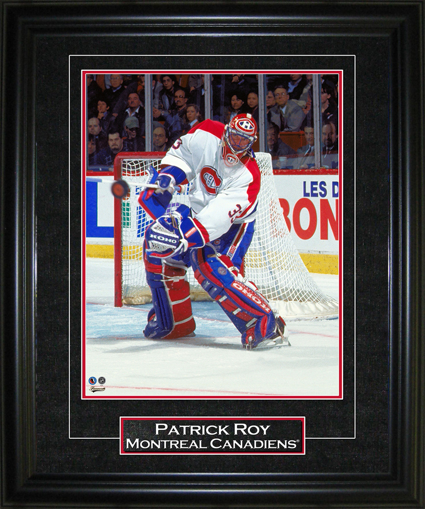 Patrick Roy 8x10 Graphic Frame Canadiens