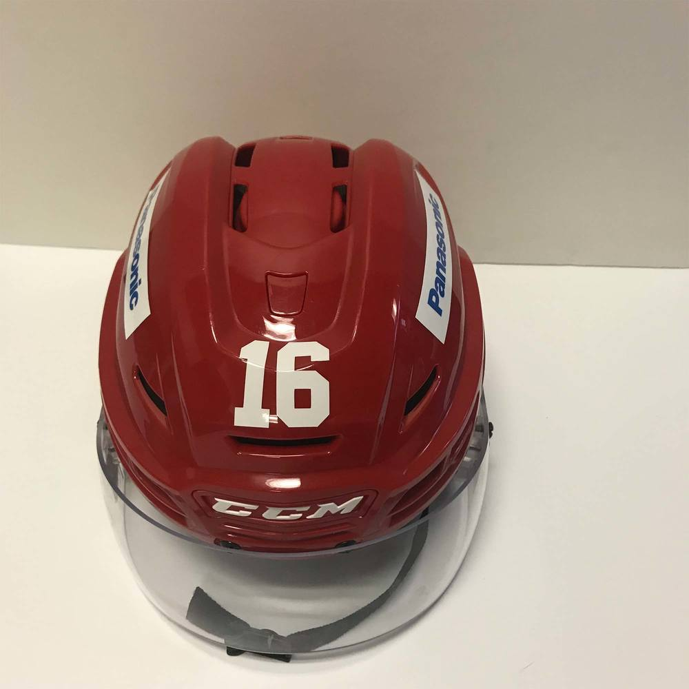 2016 Toyota AHL All-Star Challenge Helmet Worn and Signed by #16 Sean Backman