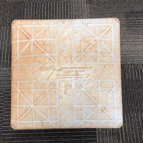 Photo of San Francisco Giants - 2014 World Series Game 4 Batting Practice Base - 1st Base - authenticated for 10/25/13