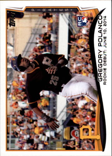 Photo of 2014 Topps Update #US20 Gregory Polanco Rookie Card