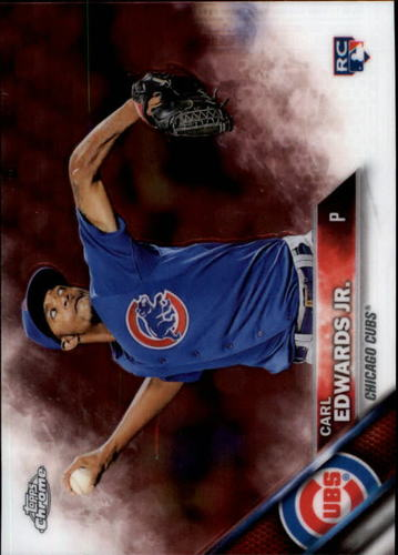 Photo of 2016 Topps Chrome #85 Carl Edwards Jr. Rookie Card