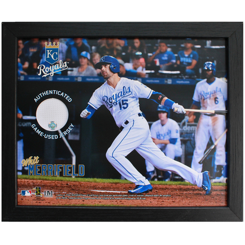 Photo of Game-Used Jersey Frame: Whit Merrifield