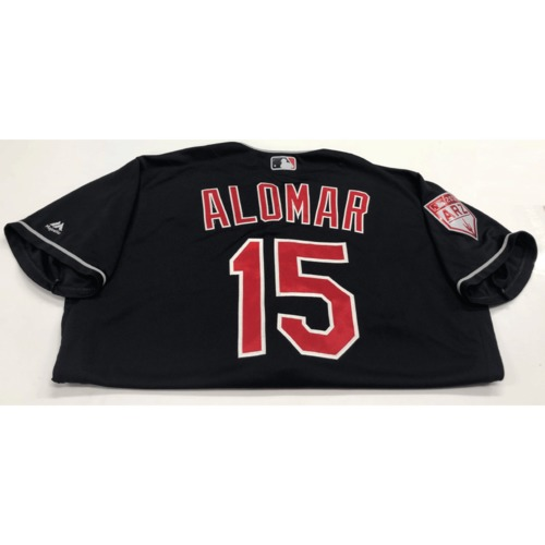 Photo of Sandy Alomar Jr. Game-Used 2019 Spring Training Jersey