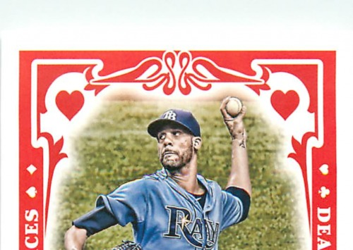 Photo of 2013 Topps Gypsy Queen Dealing Aces #DP David Price