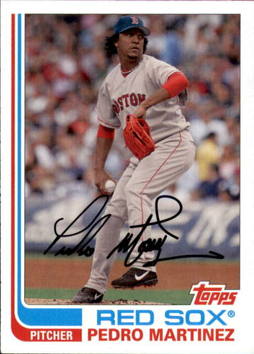 Photo of 2017 Topps Archives #159 Pedro Martinez