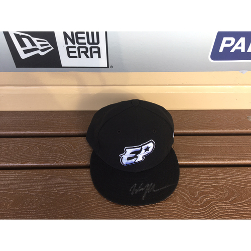 Photo of El Paso Victims Relief Fund Auction San Diego Padres Signed Wil Myers El Paso Chihuahuas Hat