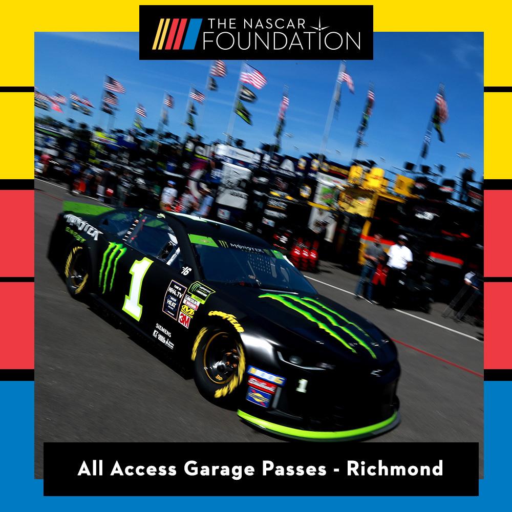 Two All Access NASCAR Garage Passes at Richmond Raceway!