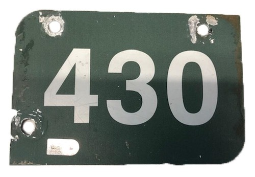Photo of 12 Days of Auctions: Day 11 -- Wrigley Field Collection -- Aisle Marker 430