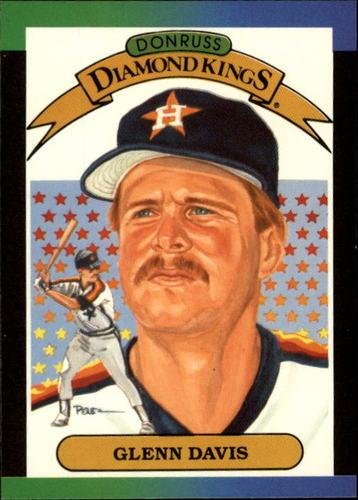 Photo of 1989 Donruss #25 Glenn Davis DK