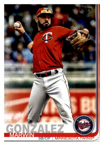 Photo of 2019 Topps Update #US110 Marwin Gonzalez