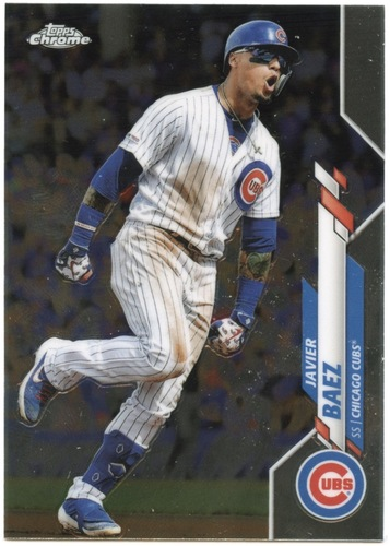Photo of 2020 Topps Chrome #198 Javier Baez