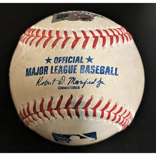 Photo of Game-Used Baseball:  Tim Anderson Chicago White Sox Triple (MLB AUTHENTICATED)