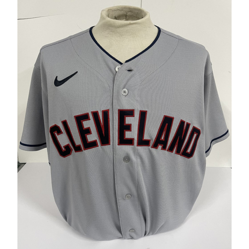 Photo of Team Issued Jersey - Shane Bieber #57 - Size 44C + 1B