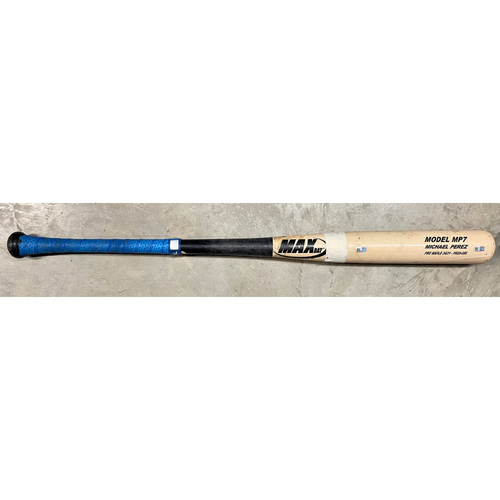 Photo of Game Used Broken Bat: Michael Perez #7 - September 27, 2020 v PHI