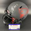 NFL - Patriots Eclipse Helmet Signed by Jake Bailey, Stephon Gilmore, Mathew Slater