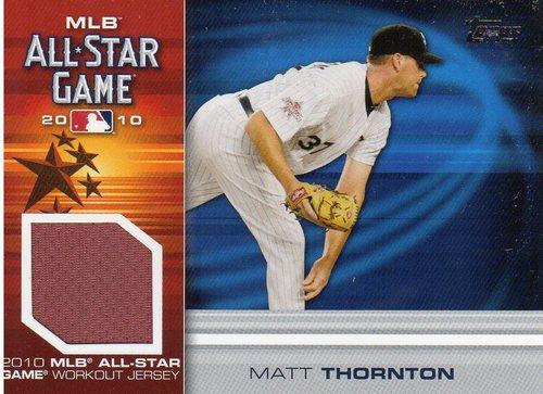 Photo of 2010 Topps Update All-Star Stitches #MT Matt Thornton