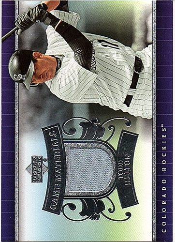 Photo of 2007 Upper Deck UD Game Materials #TH Todd Helton Jersey