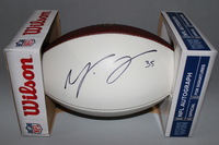 NFL - BILLS MIKE TOLBERT SIGNED PANEL BALL