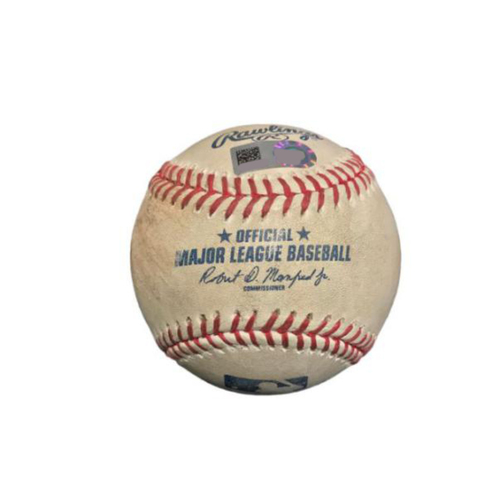 Photo of Game-Used Baseball from Pirates vs. Nationals on 5/16/17 - Strasburg to Freese (Walk), Ball to Bell