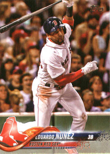 Photo of 2018 Topps #76 Eduardo Nunez