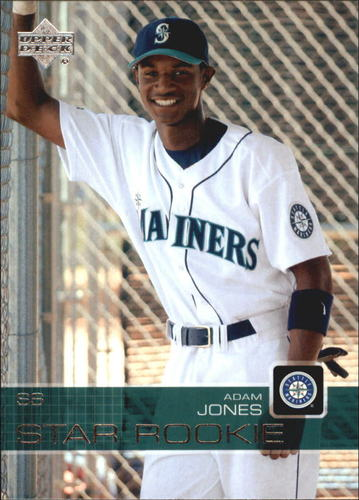 Photo of 2003 Upper Deck Prospect Premieres #7 Adam Jones Rookie Card