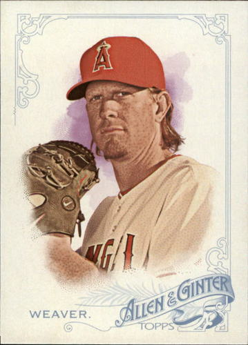 Photo of 2015 Topps Allen and Ginter #267 Jered Weaver