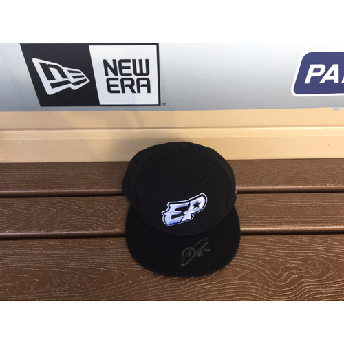 El Paso Victims Relief Fund Auction San Diego Padres Signed Dinelson Lamet El Paso Chihuahuas Hat