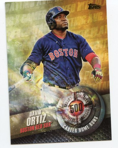 Photo of 2016 Topps Record Setters #RS3 David Ortiz