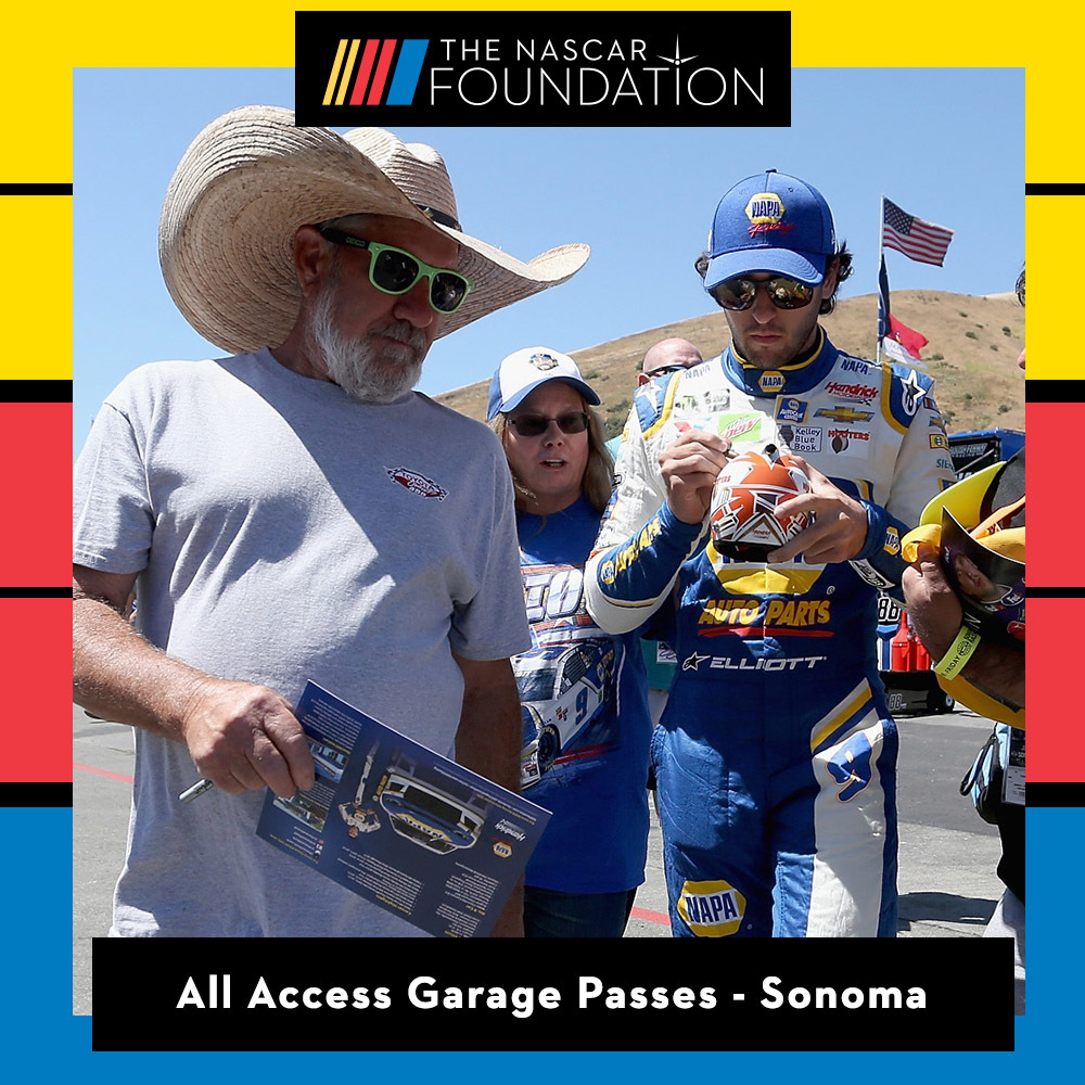 All Access Garage Passes at Sonoma Raceway!