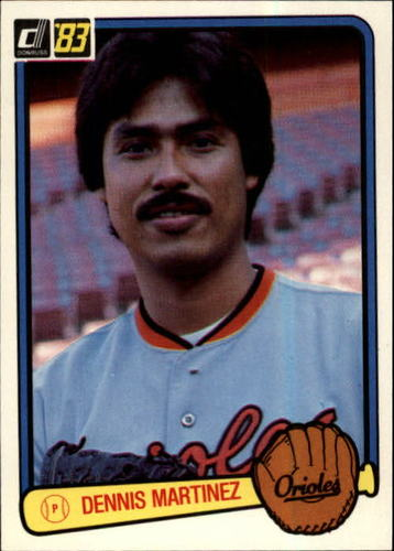 Photo of 1983 Donruss #231 Dennis Martinez