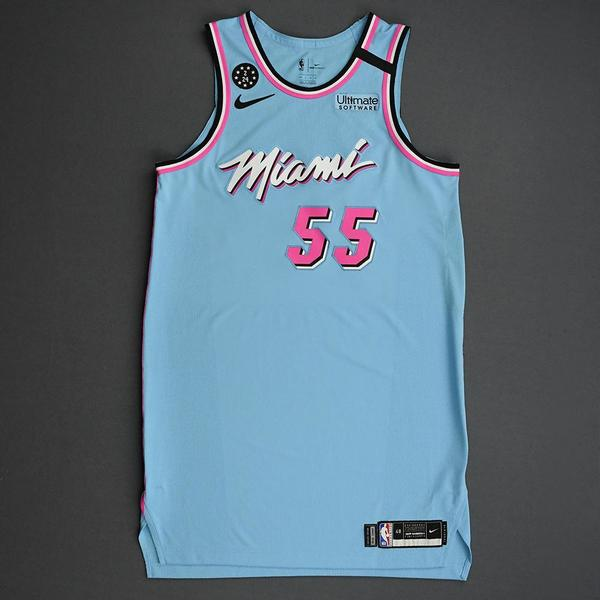 Image of Duncan Robinson - Miami Heat - 2020 MTN DEW 3-Point Contest - Event-Worn City Edition Jersey