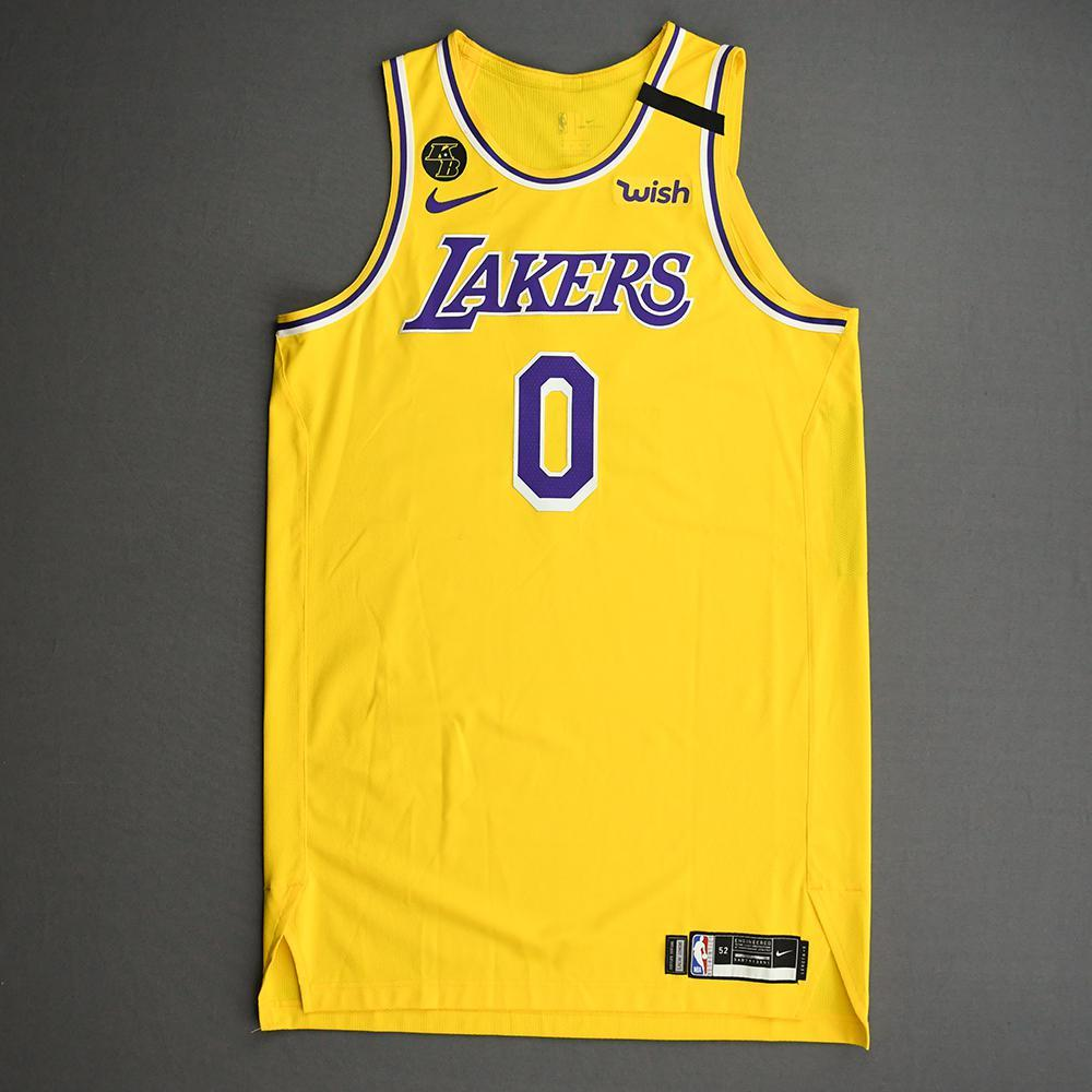 Kyle Kuzma - Los Angeles Lakers - Game-Worn Icon Edition Jersey ...