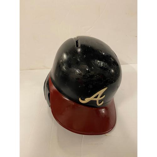 Photo of Johan Camargo Game Used Home Helmet - Left Handed Batting - Worn 8/14/19 (7th Inning)