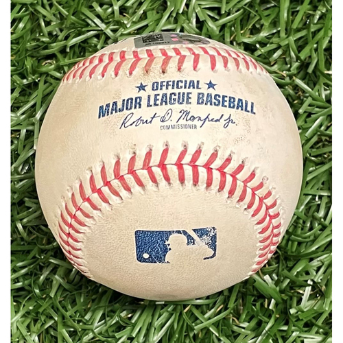 Photo of Game Used Baseball: Jean Segura single off Ryan Yarbrough - Top 4 - September 26, 2020 v PHI