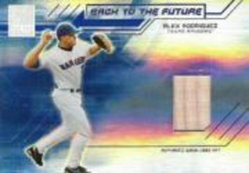 Photo of 2004 Donruss Elite Back to the Future Bats #8 Alex Rodriguez/Hank Blalock