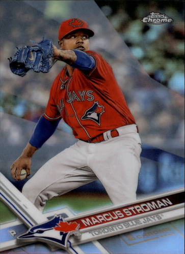 Photo of 2017 Topps Chrome Refractors #39 Marcus Stroman
