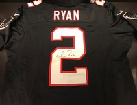 PCF -  Matt Ryan Signed Authentic Falcons Jersey