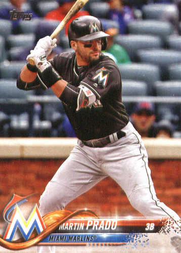 Photo of 2018 Topps #77 Martin Prado