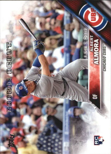 Photo of 2016 Topps Update #US139 Albert Almora Rookie Card