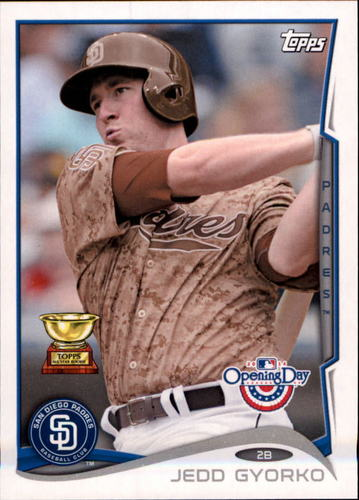 Photo of 2014 Topps Opening Day #56 Jedd Gyorko