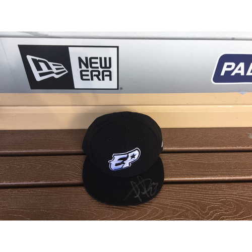 Photo of El Paso Victims Relief Fund Auction San Diego Padres Signed Fernando Tatis Jr. El Paso Chihuahuas Hat