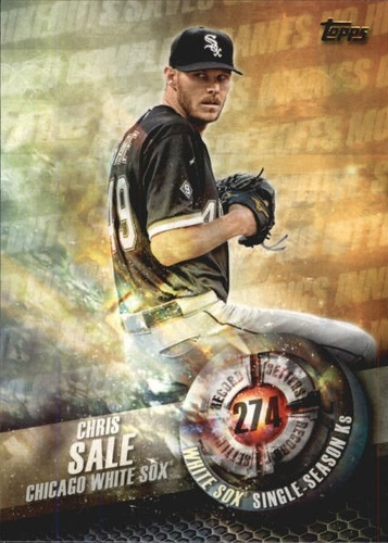 Photo of 2016 Topps Record Setters #RS8 Chris Sale