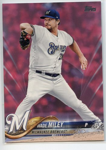Photo of 2018 Topps Mother's Day Pink #359 Wade Miley