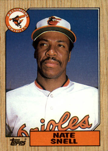 Photo of 1987 Topps #86 Nate Snell
