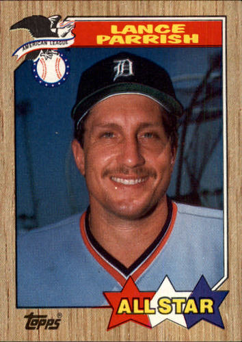 Photo of 1987 Topps #613 Lance Parrish AS