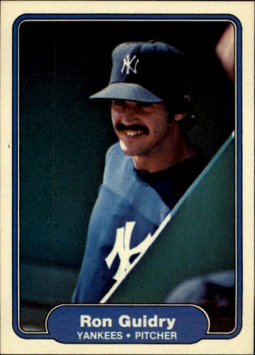 Photo of 1982 Fleer #38 Ron Guidry